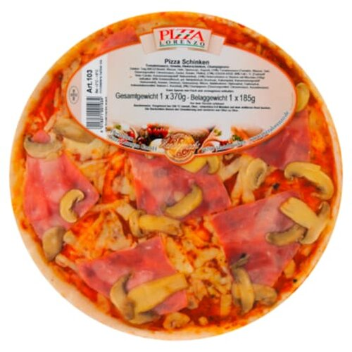 Pizza Lorenzo Pizza Schinken 370g