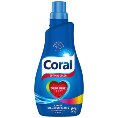 Coral Flüssigwaschmittel optimal color 22WL 1,1l