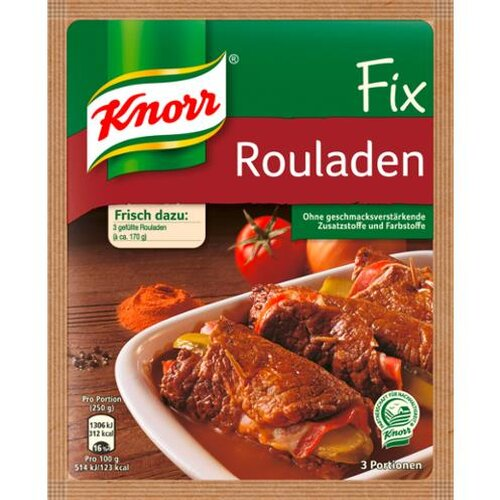 Knorr Fix Rouladen 34g