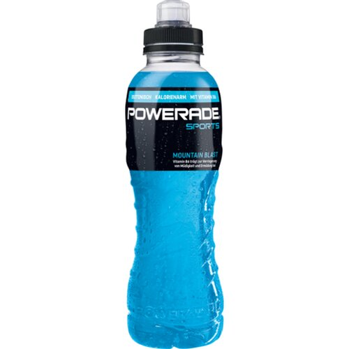 Powerade Mount Blast 0,5l