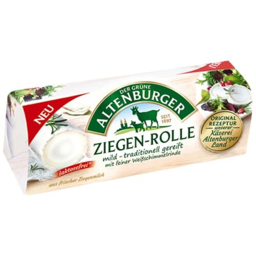 Altenburger Ziegen-Rolle Camembert 45% 150g