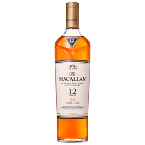 The Maccallan Double Cask 12 Jahre 40% 0,7l