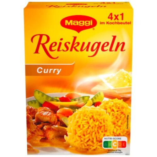 Maggi Reiskugel Curry 4ST 125g