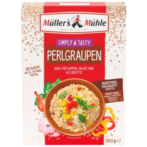 Müllers Mühle Perlgraupen 250g