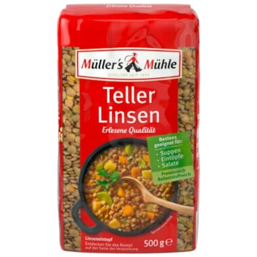 Müllers Mühle Linsen 500g