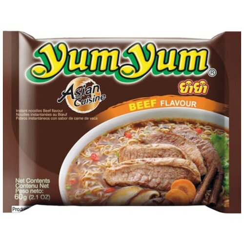 Yum Yum Instant Suppe Rind 60g