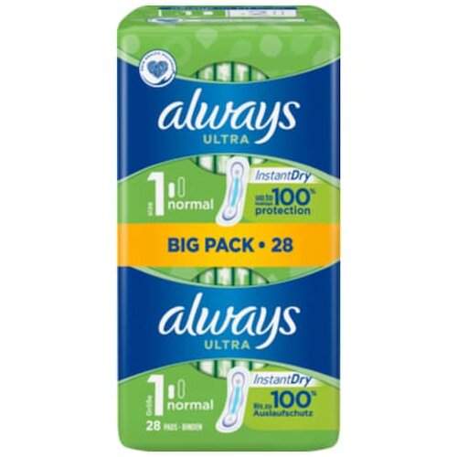 always Ultra normal Binden Big Pack 28er