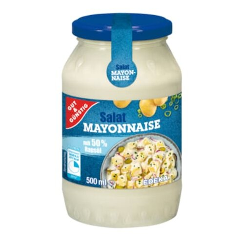 Gut & Günstig Salat Mayonnaise 500ml