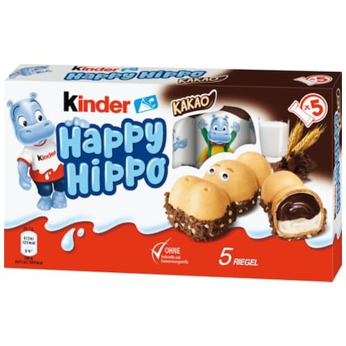 Ferrero kinder Happy Hippo Croki 5er