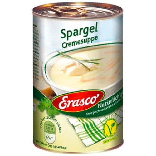 Erasco Spargelcreme Suppe 390ml