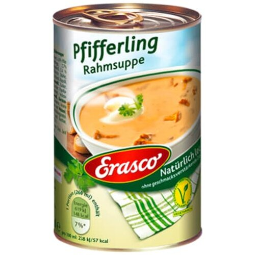 Erasco Pfifferling Rahmsuppe 390ml