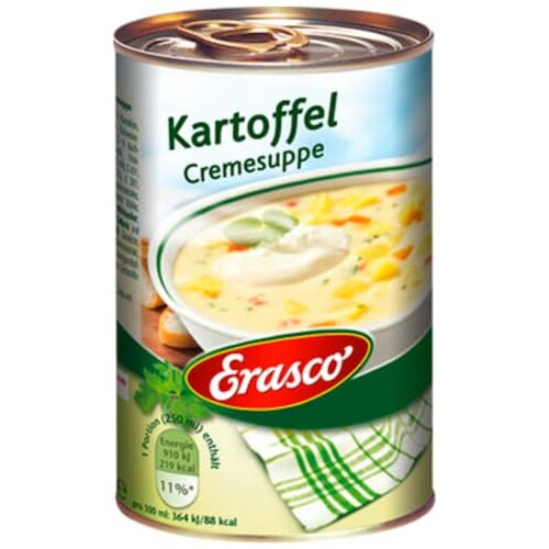 Erasco Kartoffel Creme Suppe 390ml