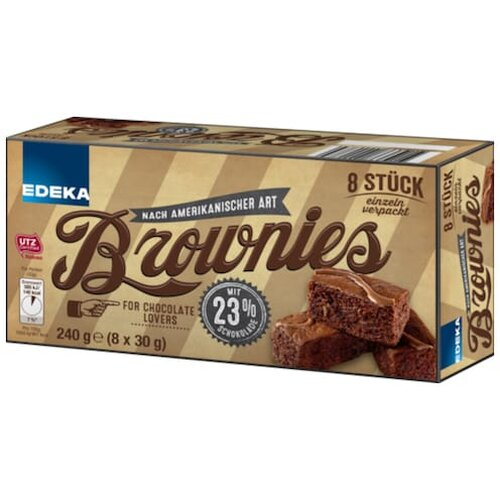EDEKA Brownies 8ST 240g